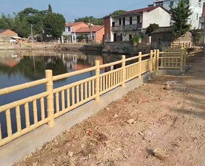 仿竹栏杆生产